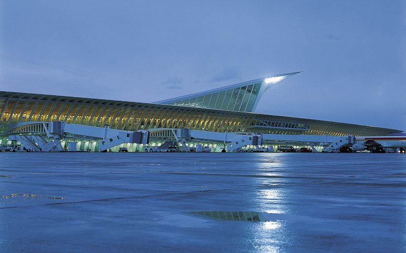 Bilbao international airport